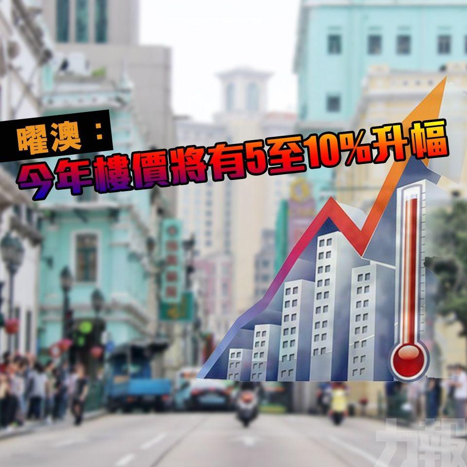 曜澳:今年樓價將有5至10%升幅