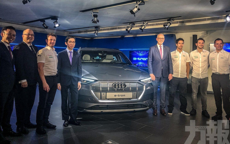 奧迪首款電動車e-tron接受預訂