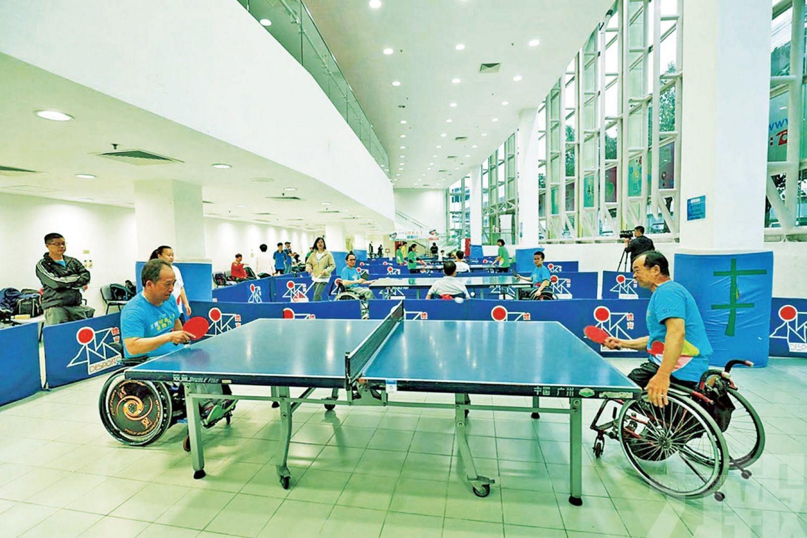 殘疾人士運動日下月14日舉行