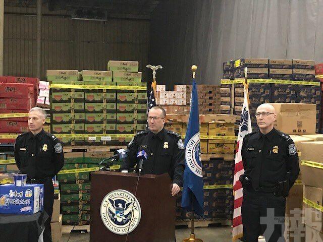 美國海關檢獲454噸中國走私豬肉
