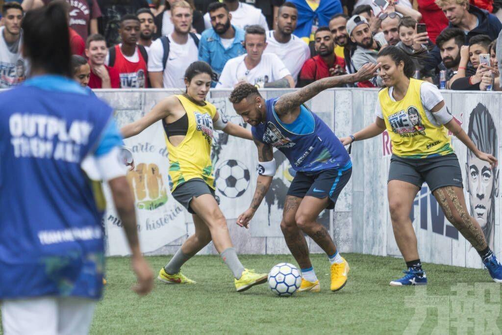 尼馬5人足球賽明澳大舉行