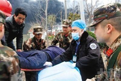 國家級醫療專家組協助救援