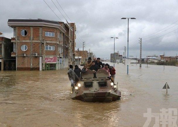 伊朗連日大雨掀洪災至少18死近百傷
