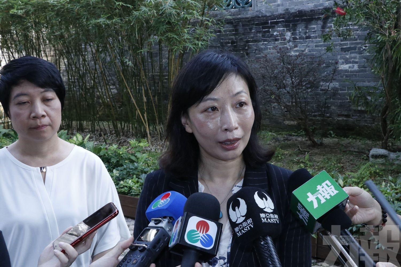 穆欣欣:已對涉事人員展開簡易調查程序