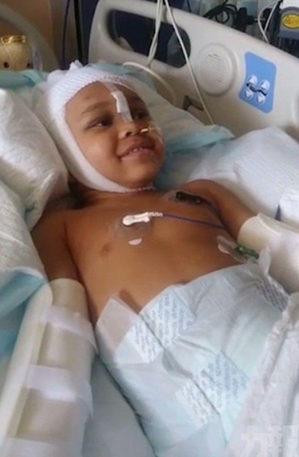 美國4歲男童險喪命