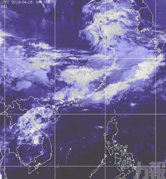 氣象局:本澳未來2小時將有雷雨