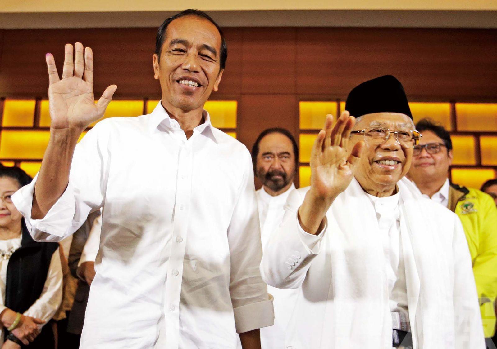 維多多料連任印尼總統