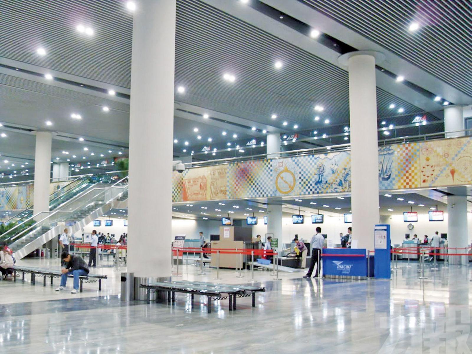 澳門機場航班或受雷暴影響