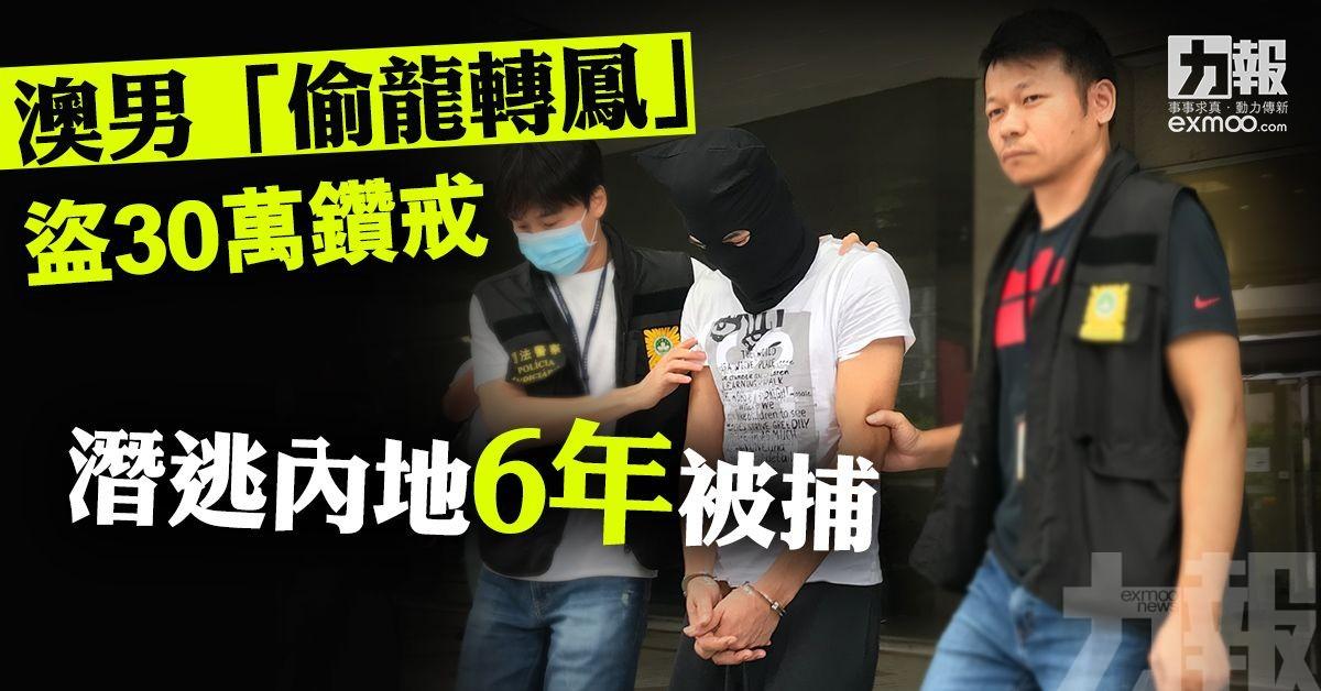 潛逃內地6年被捕
