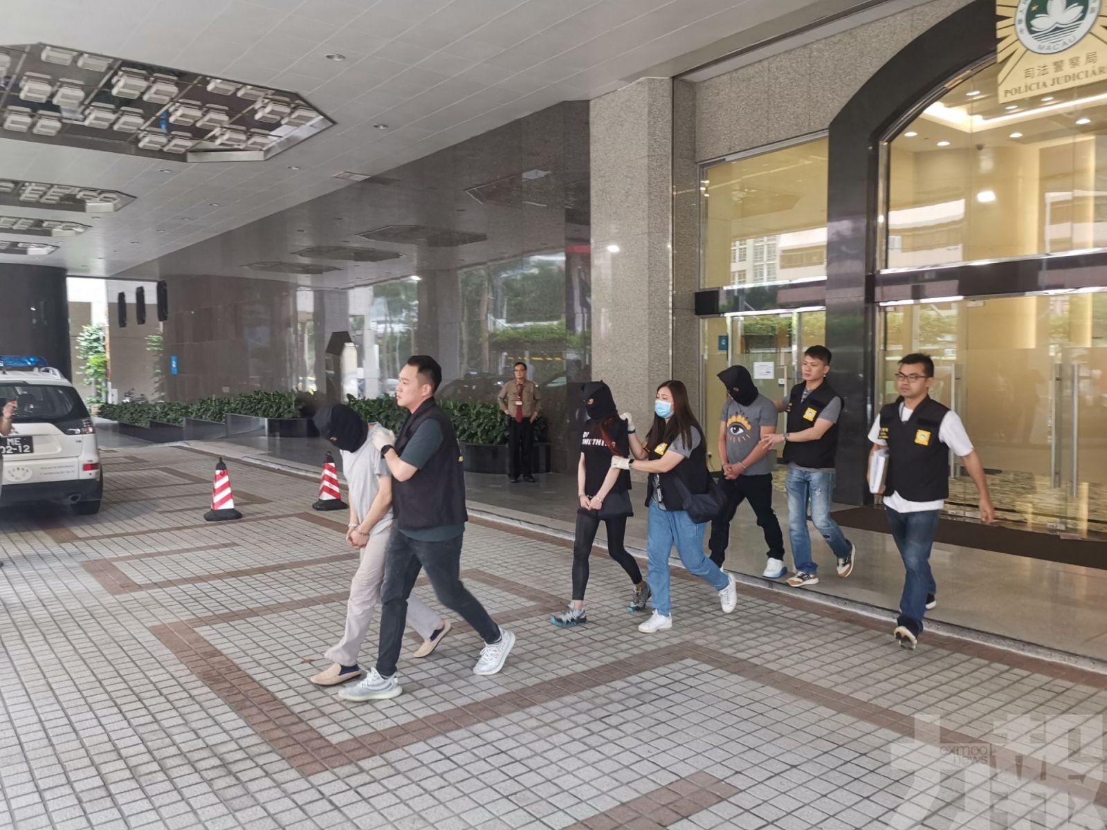 警拘涉毒香港夫妻檔