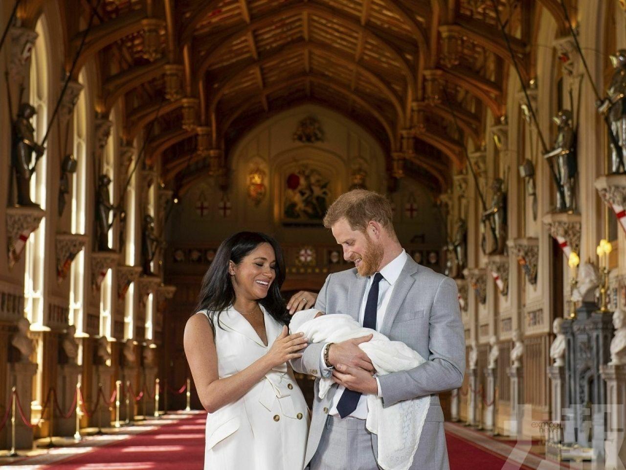 哈里梅根兒子取名Archie「阿奇」