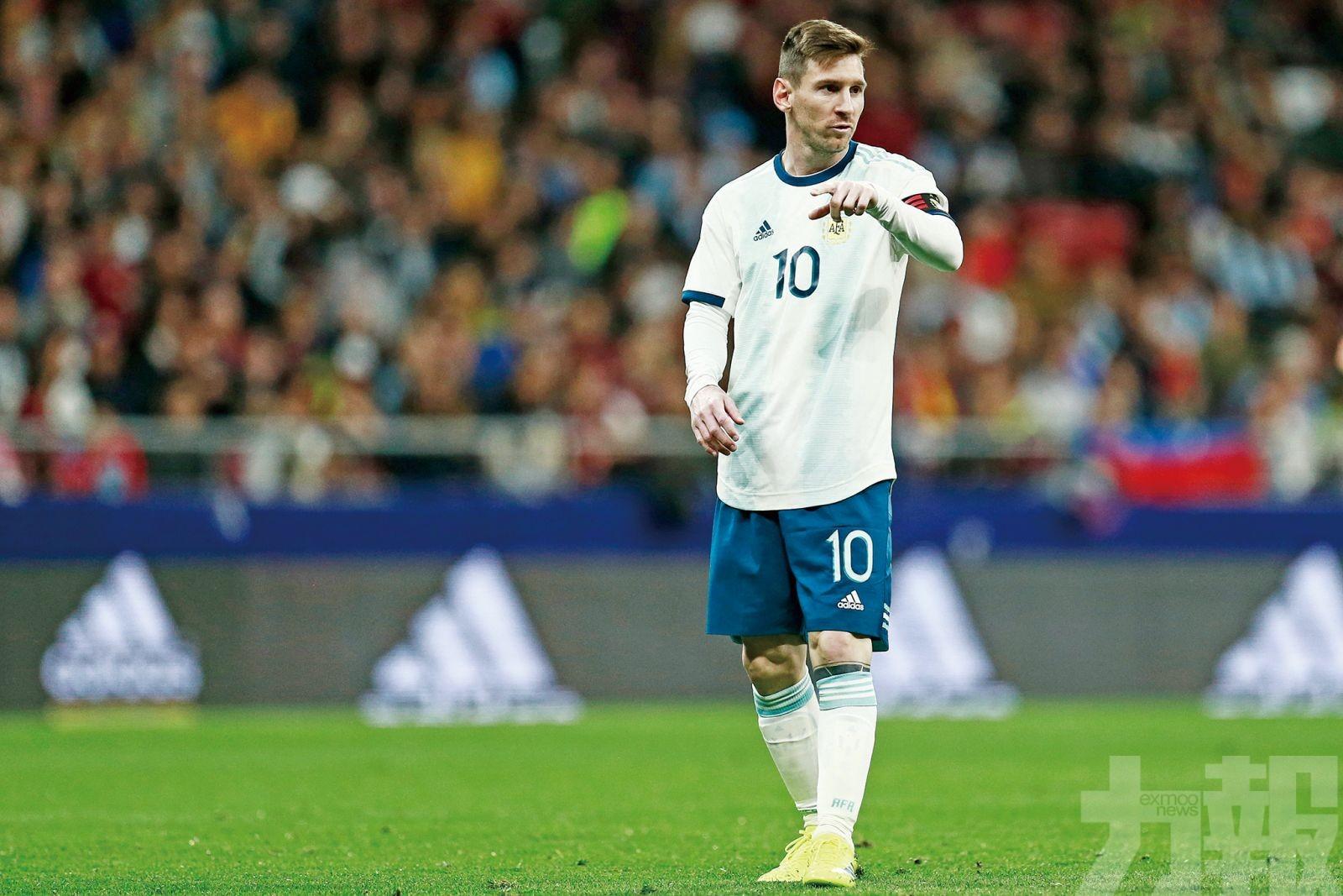 阿根廷公佈美洲盃初選名單有美斯