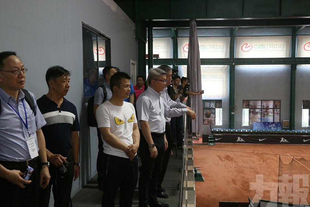 潘永權冀邀贛體育隊伍來澳交流
