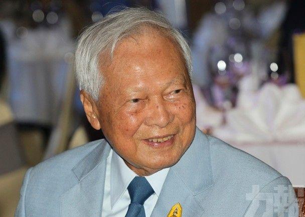 泰前總理炳廷素拉暖病逝 享年98歲