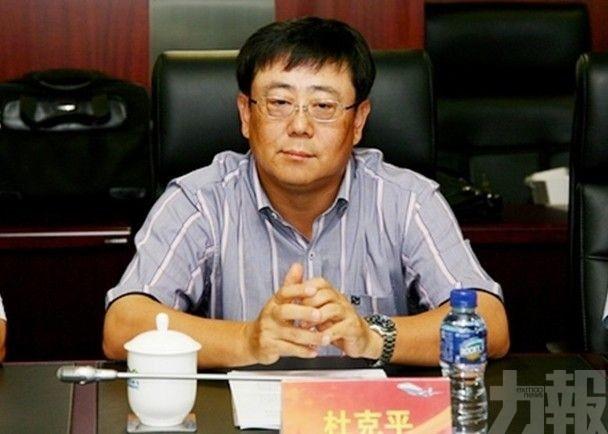 中化集團前副總經理杜克平被雙開