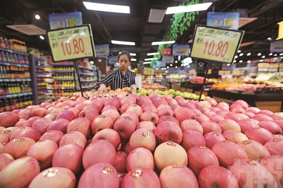 鮮果價格按年漲26.7%