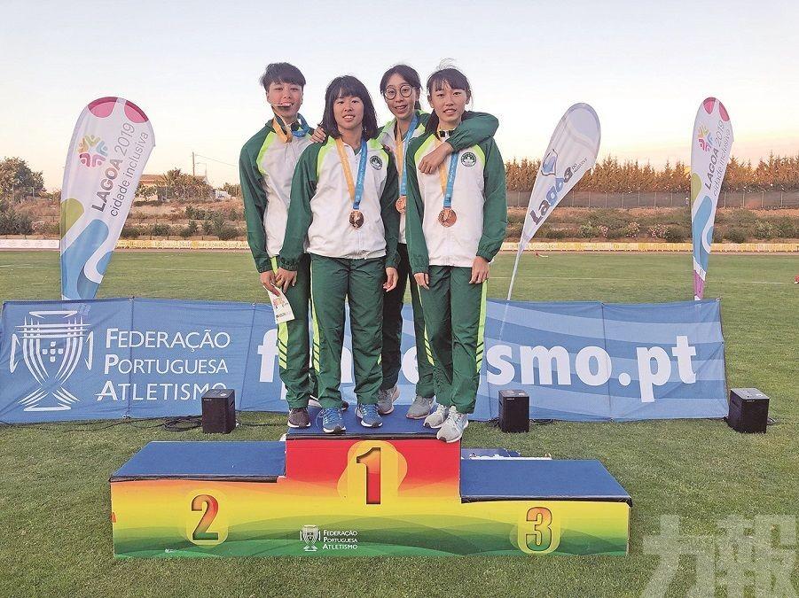 葡國賽奪3金2銀1銅
