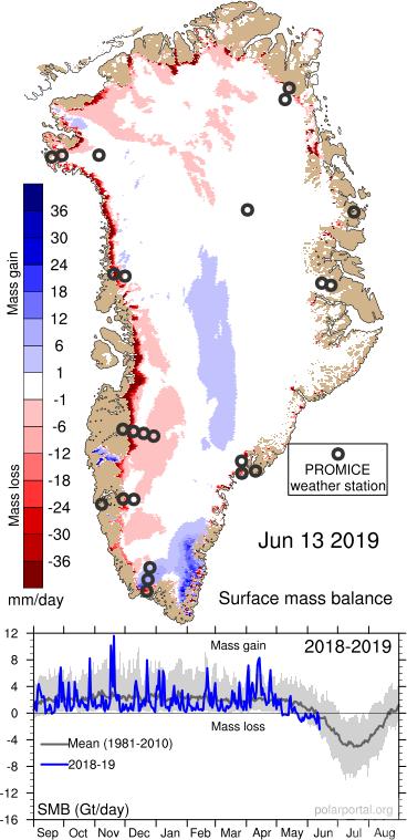 不尋常!格陵蘭島20億噸冰一日內融化