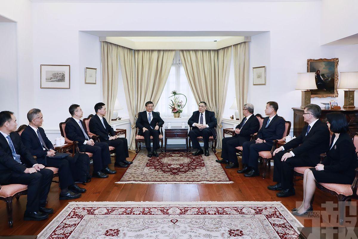 崔世安:望與海關總署繼加強緊密合作