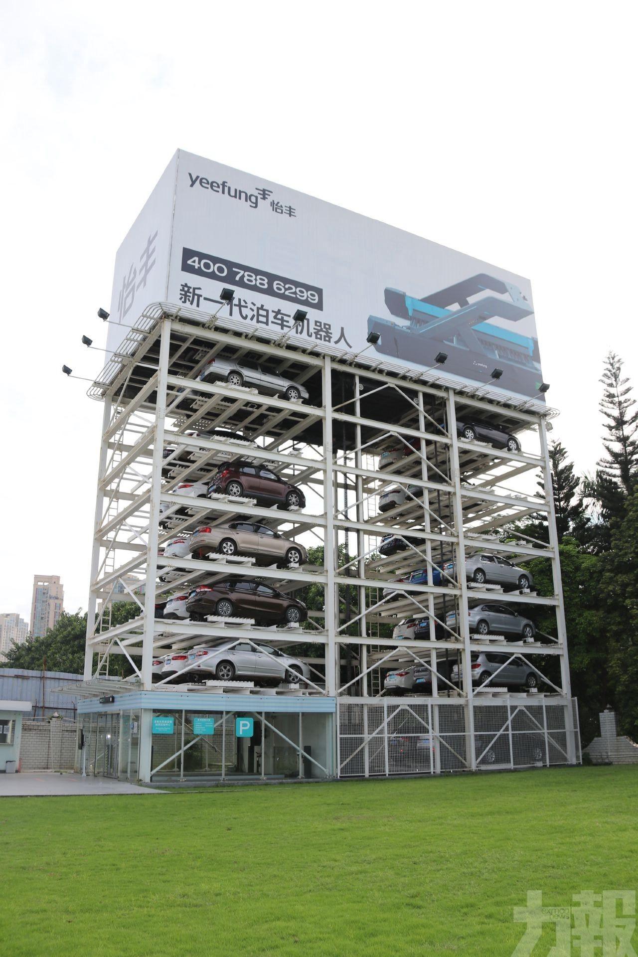 擬興建立體自動停車位