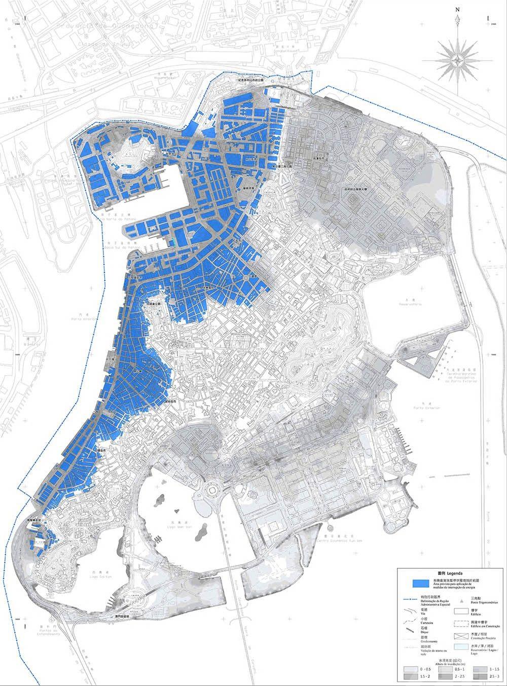 澳電:水浸停電機制分五階段通報