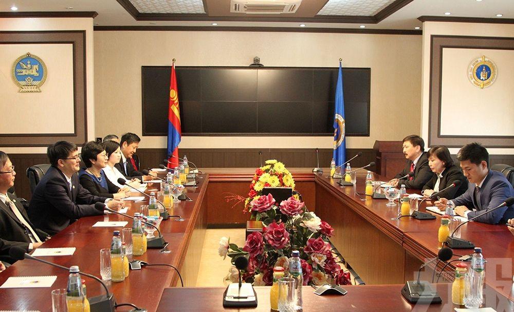 澳門與蒙古國簽署刑事司法協助協定