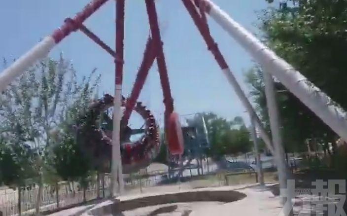 360度旋轉遊樂設施半空折斷 19歲女墮亡