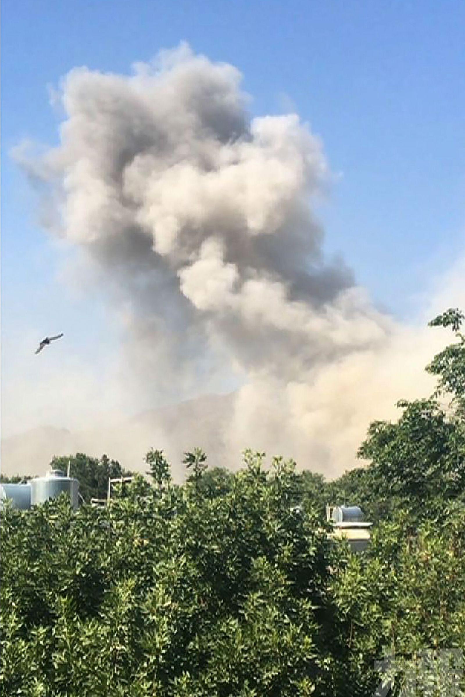 阿富汗國防部附近爆炸至少34死68傷