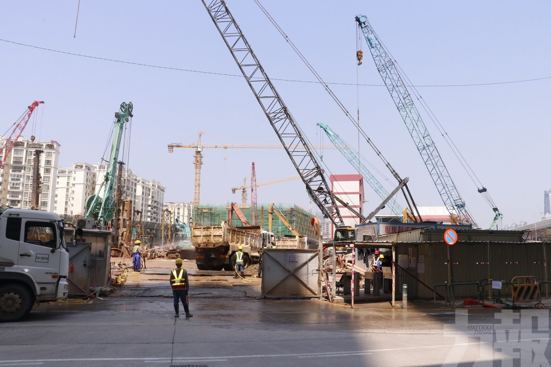 建設工程至今約40億元