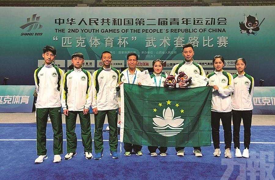 黃心妍青年運動會南拳項目摘銅