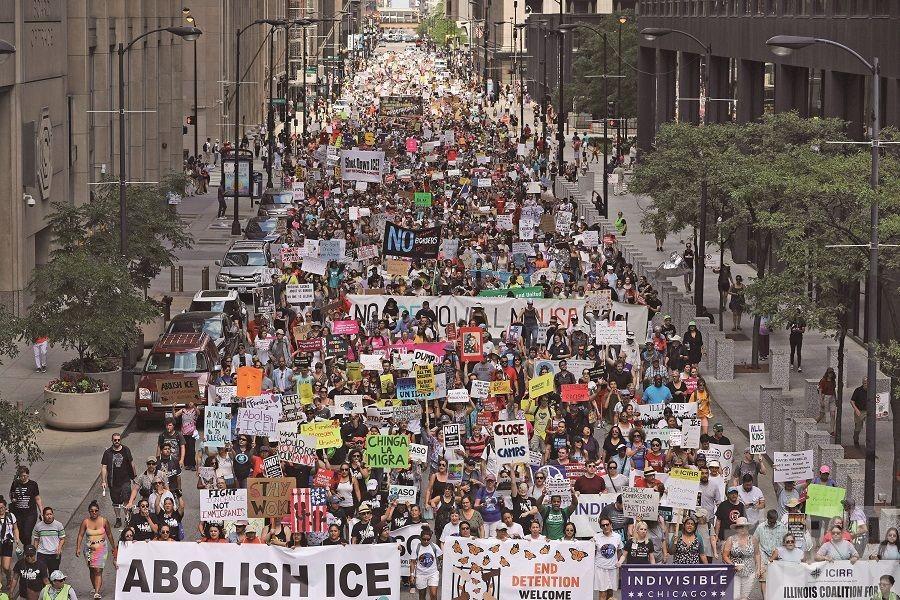 特朗普移民清除計劃啟動