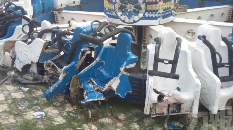 遊客被拋飛 釀31死傷