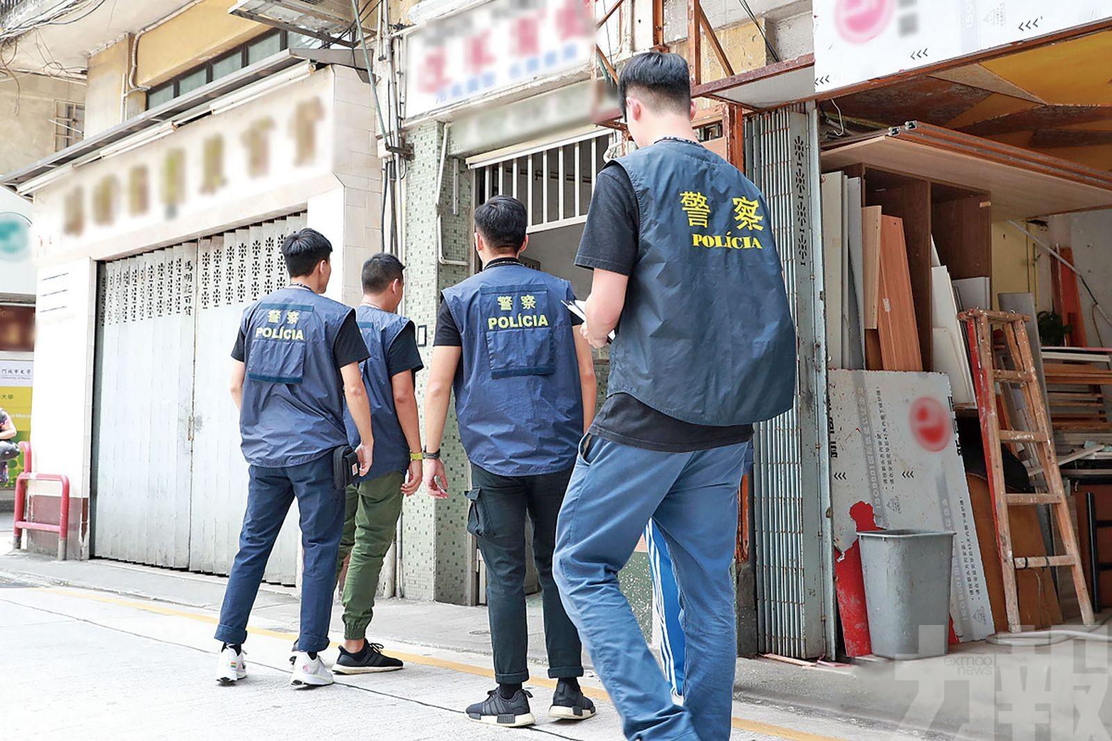 治安警展開「雷霆2019 」搜查夜場 帶走31人