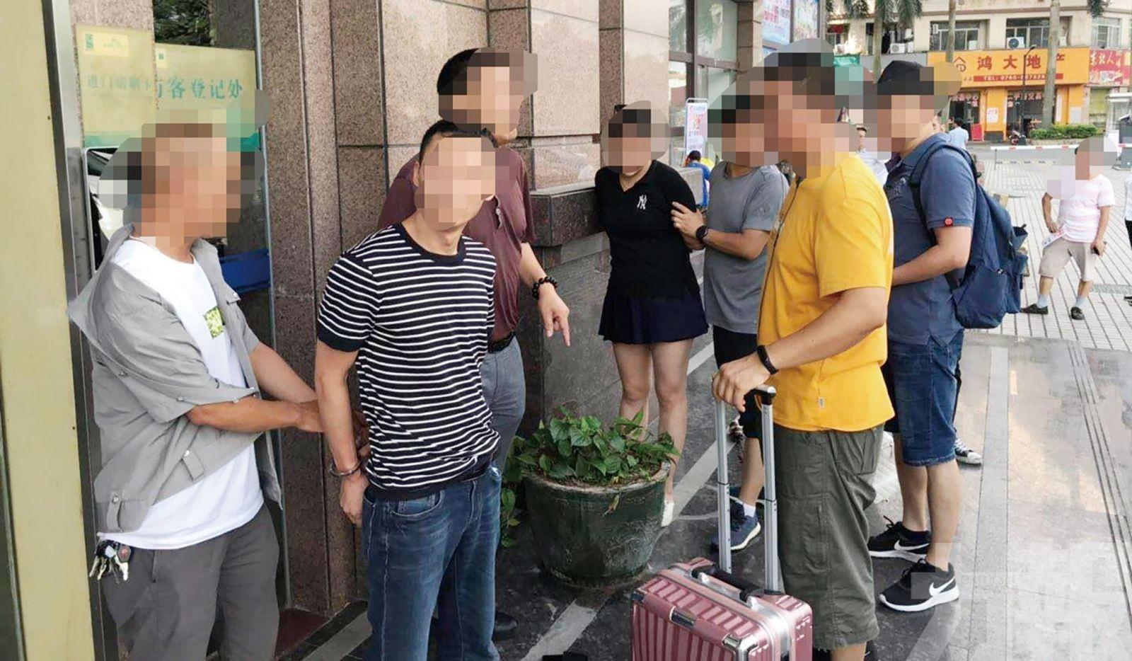 司警拘捕四人 撿獲冰毒大麻