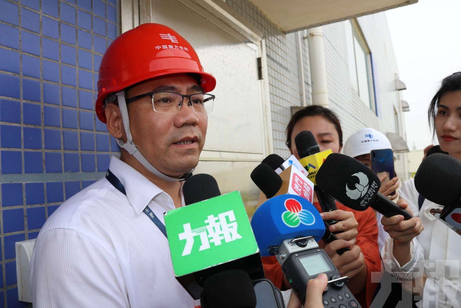 確保颱風時期對澳供電穩定