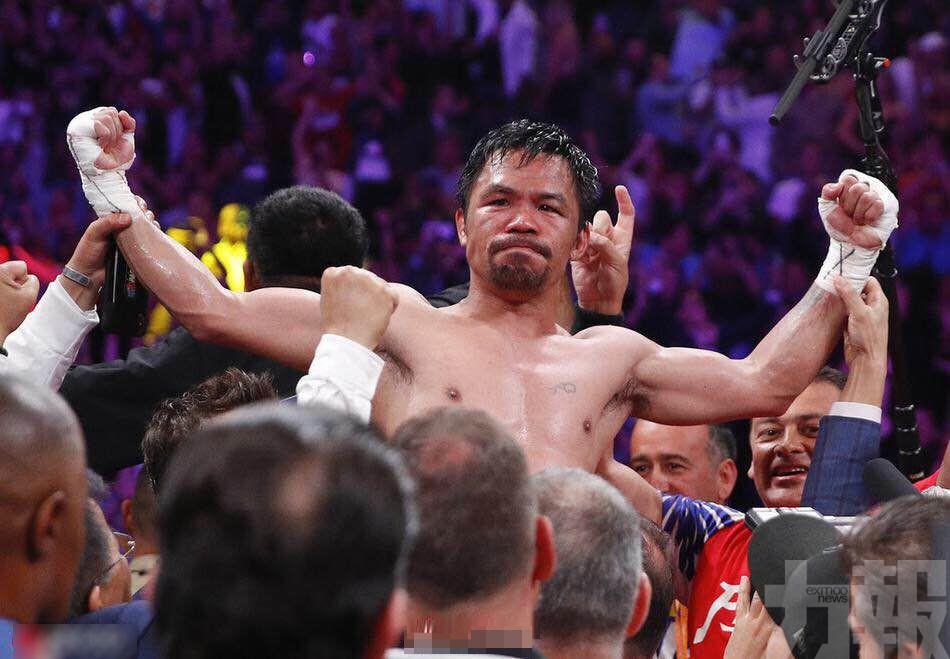 帕奎奧當次中量級超級拳王