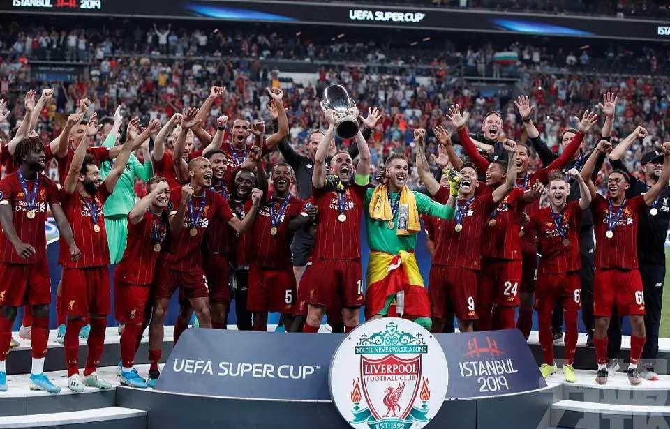 「紅軍」險勝車路士喜捧歐超盃