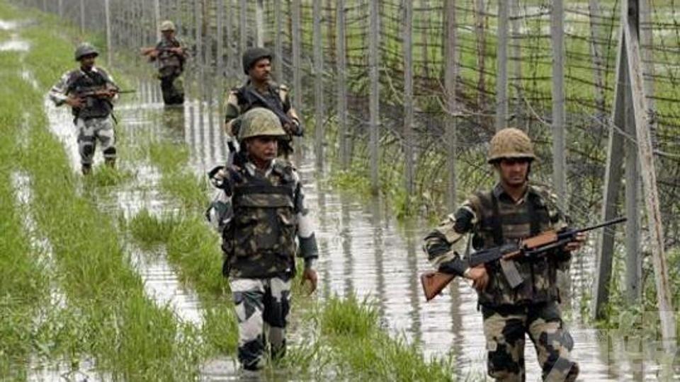 一印度士兵死亡