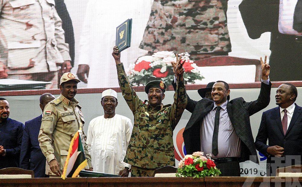 軍方與反對派共享管治權力