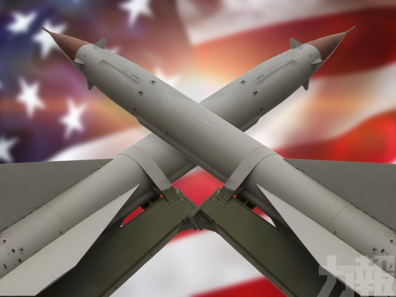 美首次測試中程導彈