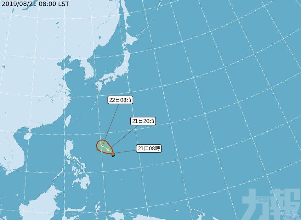 今年第11號颱風最快今生成