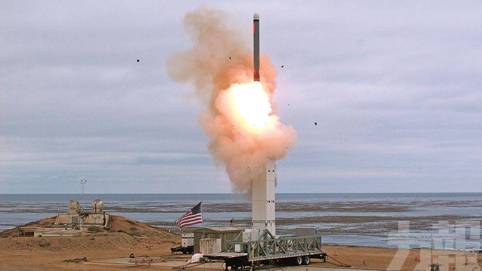 美國首度測試中程導彈