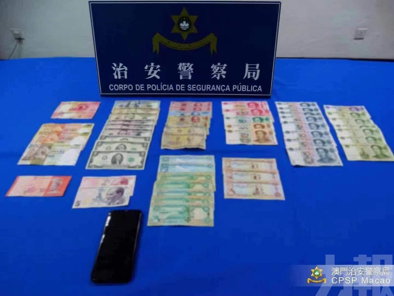三內地漢「空中」偷錢被捕