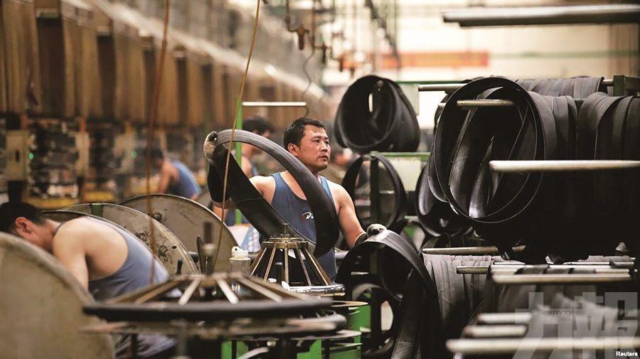 對美貿易順差擴大7.7%