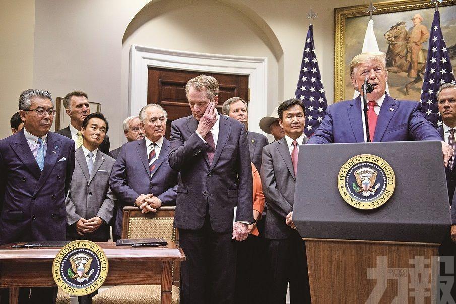 美農民享等同TPP待遇