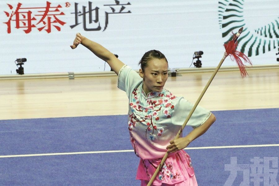 李禕勇奪世界武術錦標賽槍術金牌