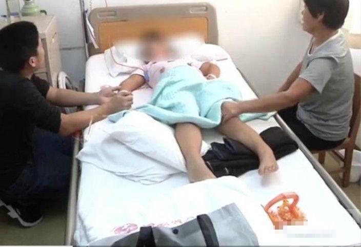 河南6歲女童全身癱瘓