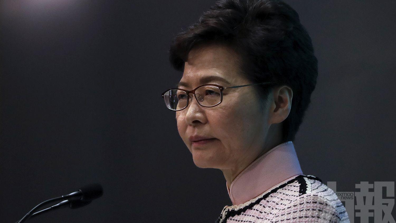 替換香港現任特首報道是謠言
