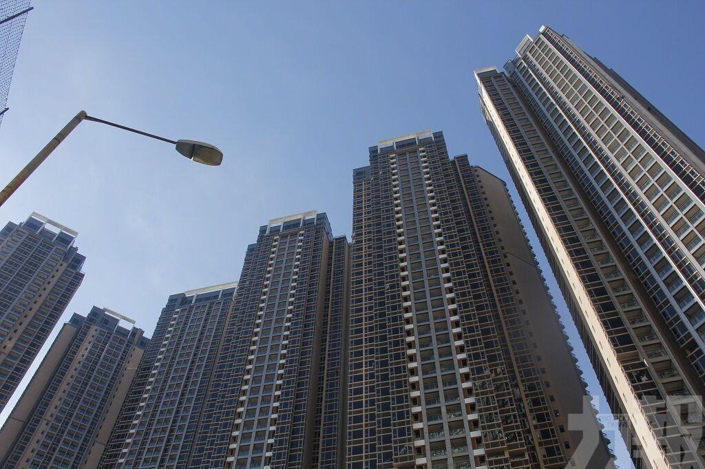 整體住宅樓價指數按季跌0.3%