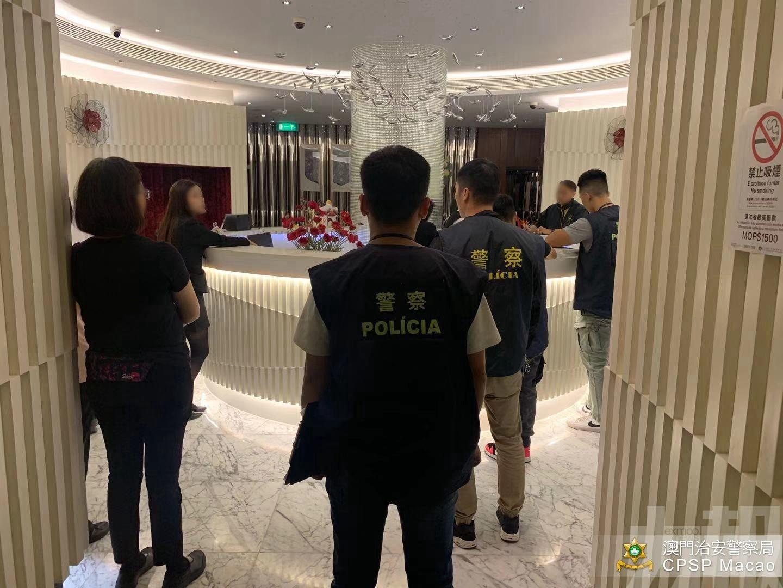 拘捕2人 揭新口岸祐漢2非法旅館